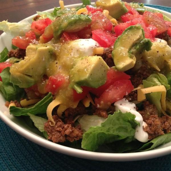 Receita de Salada de Taco Rápido