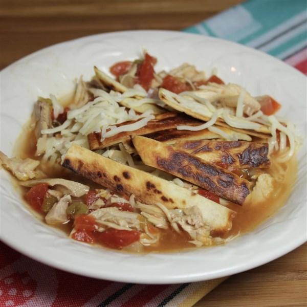 Receita de Sopa de Tortilla II
