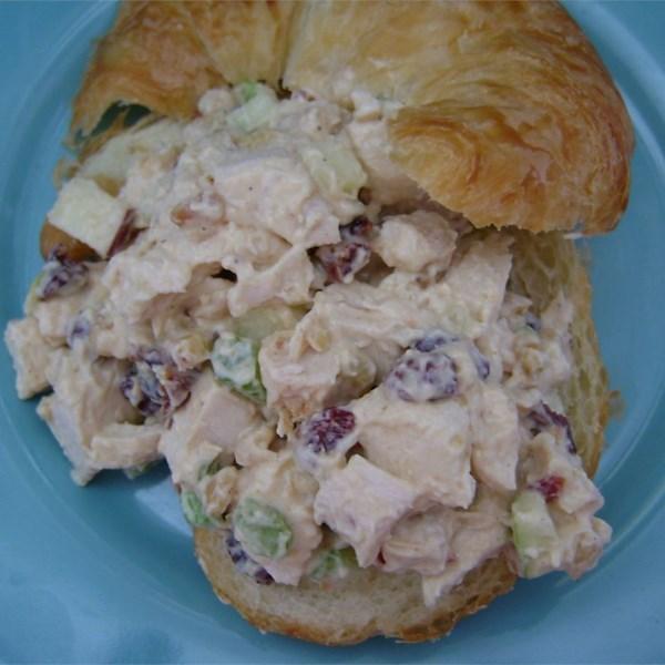 Receita de Salada de Frango cereja