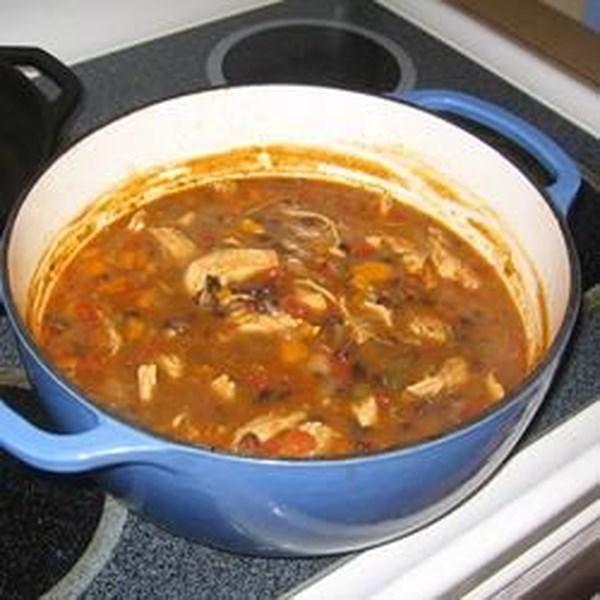 Receita de Sopa de Tortilla de Frango IV