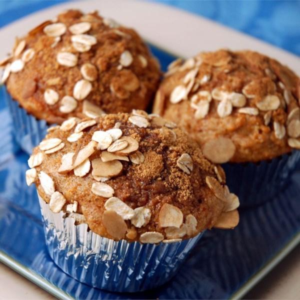 Receita de Muffins de Batata Doce de Trigo Integral