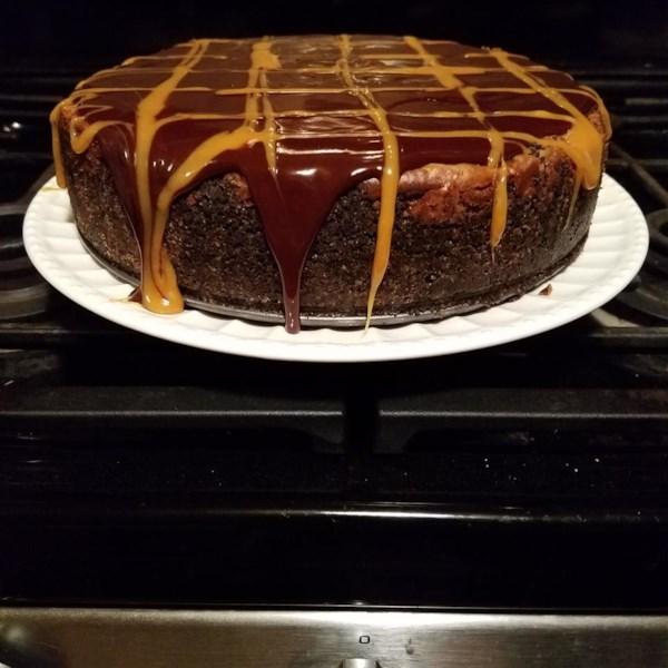 Receita de Cheesecake de Caramelo de Chocolate