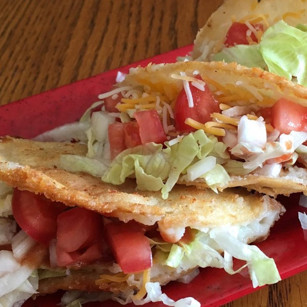 Receita de Tacos de Papa
