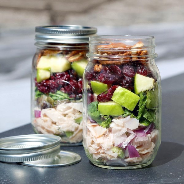 Originals Oven Roasted Chicken Salad Mason Jar Receita