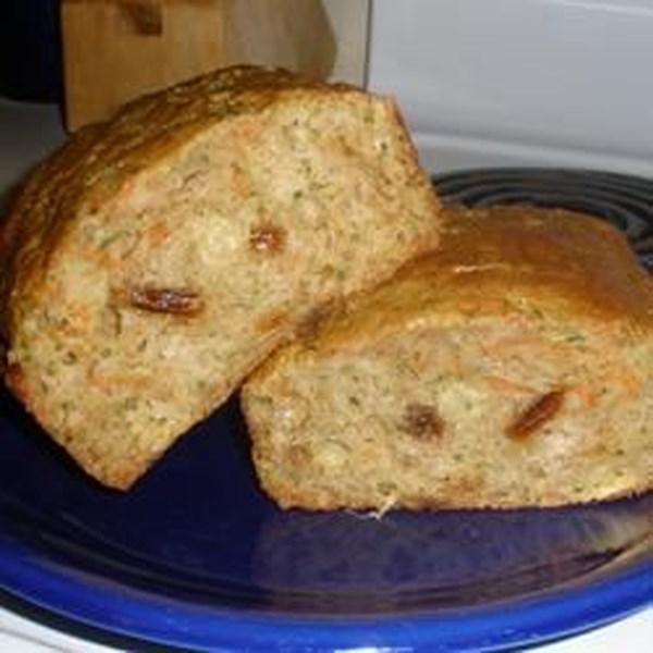 Receita de Pão de Abacaxi-Abobrinha da Mamãe