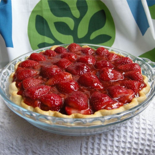 Receita de Torta de Morango II