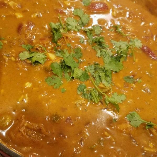 Receita de Curry de Frango do Sri Lanka