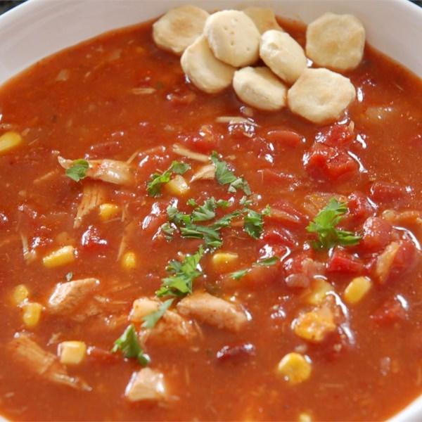 Receita de Sopa de Frango Picante de Catherine