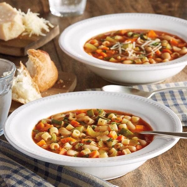Receita clássica de sopa de minestrone