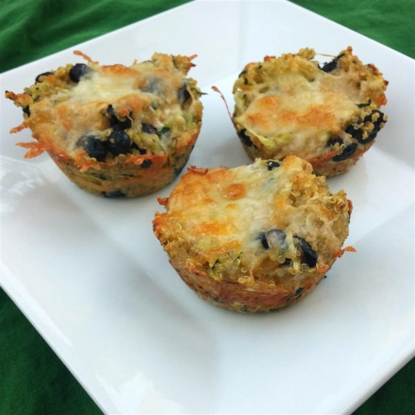 Receita Vegetariana de Fraittatas de Quinoa