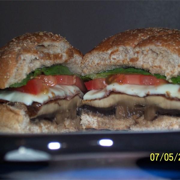 Receita de Hambúrgueres de Cogumelo portobello de Beth