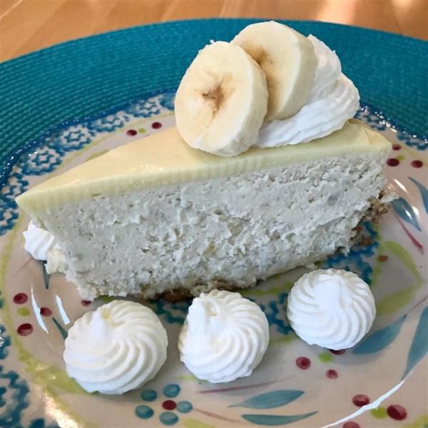 Receita de Cheesecake de Creme de Banana