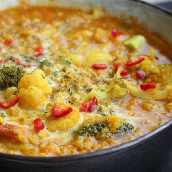 Receita de Lentilhas Divididas Vermelhas (Masoor Dal)