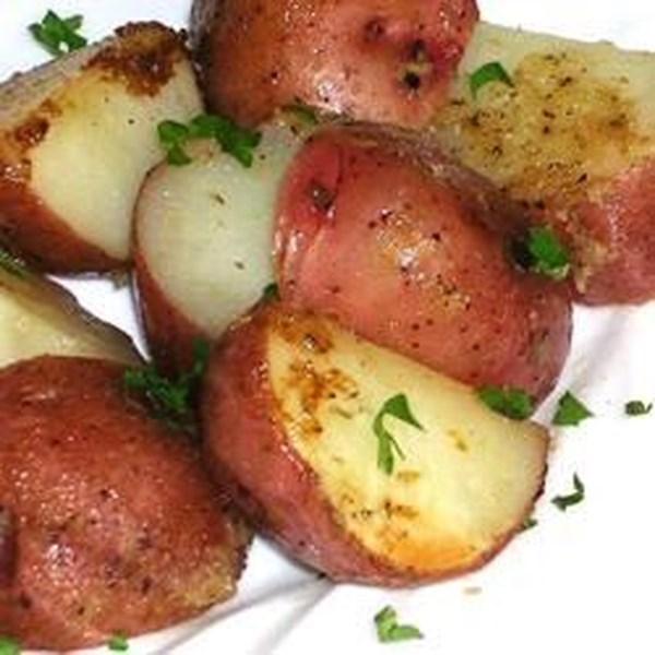 Receita de Batatas Novas de Rabanete de Limão