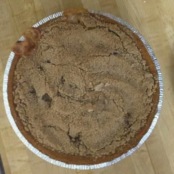 Receita de Torta de Nozes de Maçã Caramelo