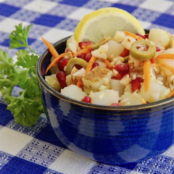 Receita de Salada Zesty