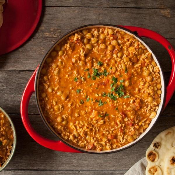 Receita de Pimentão de Frango Com Curry Vermelho