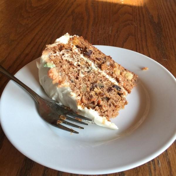 Receita famosa de bolo de cenoura de Sam