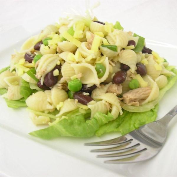 Receita de Salada de Macarrão de Atum