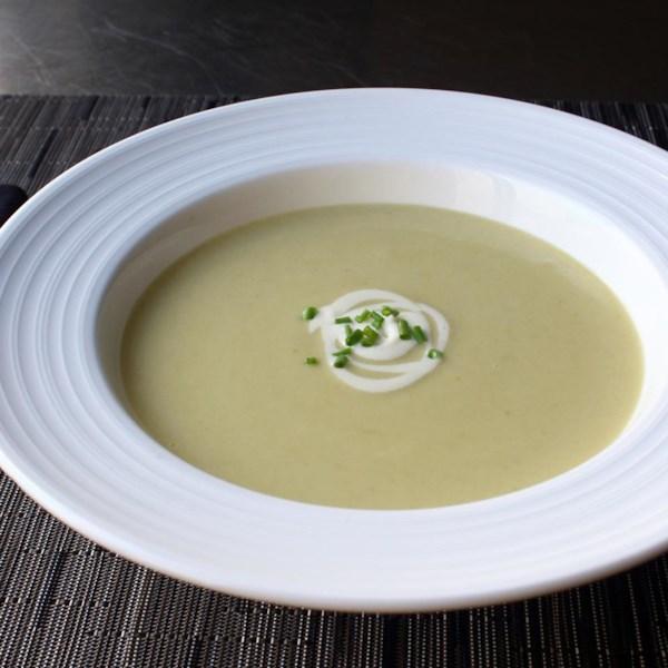 Receita de Sopa de Alho-poró de Batata (Vichyssoise)