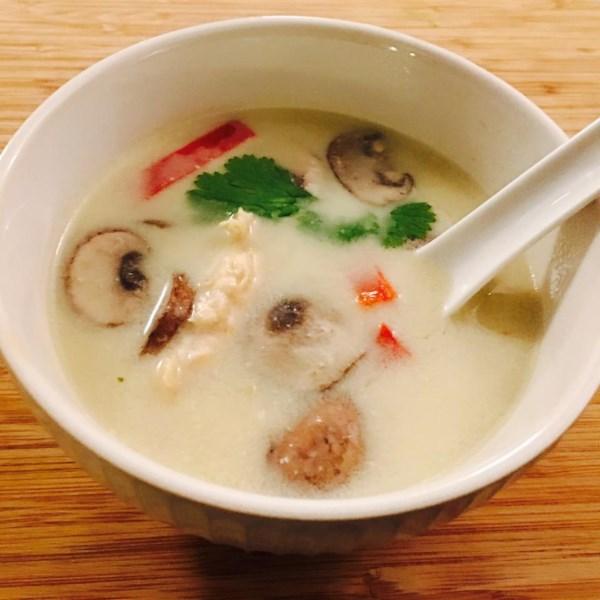 Receita de Sopa de Macarrão de Frango com Limão Com Curry