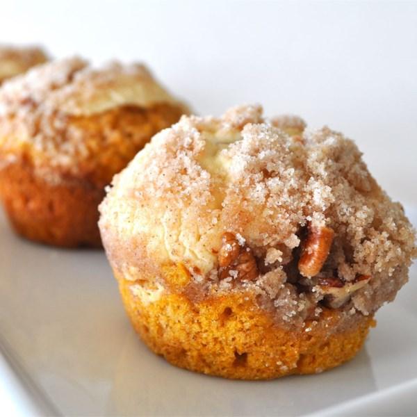 Receita de Muffins de Queijo creme de abóbora
