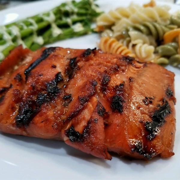 Receita fabulosa de salmão grelhado de Anne