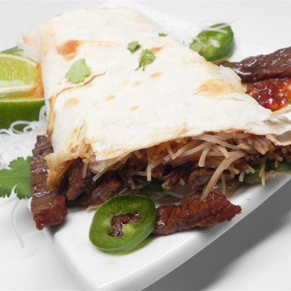 Receita de Phoritto (Pho + Burrito)