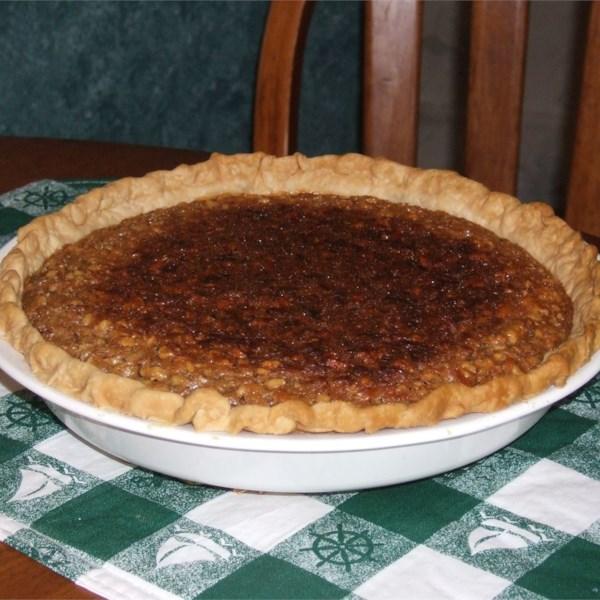 Receita de Torta de Nozes de Maple