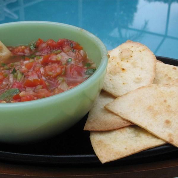 A melhor receita de salsa de tomate fresco