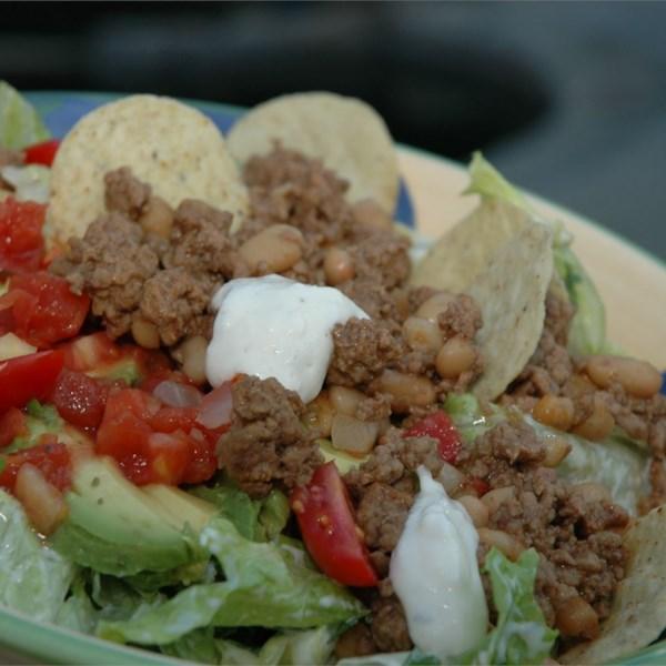 Receita de Salada de Taco da Alegria