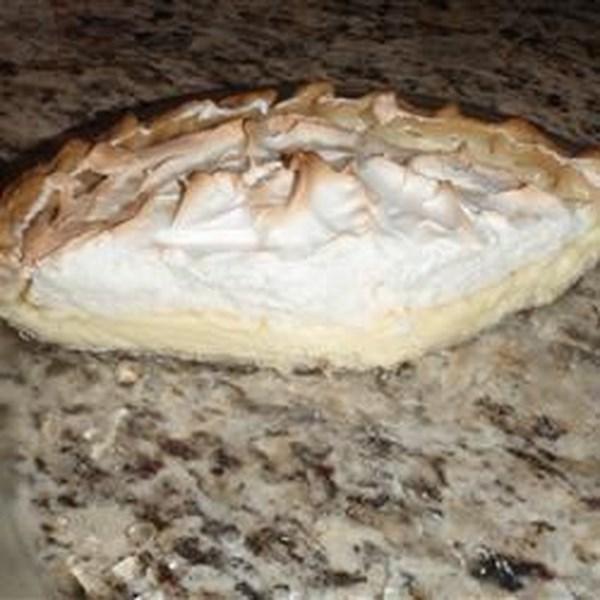 Receita de Torta de Sorvete de Merengue de Limão