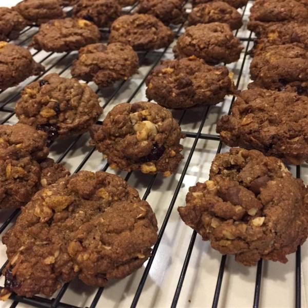 Receita de Biscoitos de Chip de Búfalo de Coco