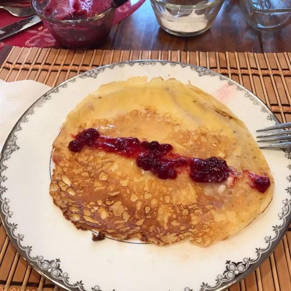 Receita tradicional de panquecas suecas