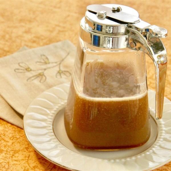 Receita de Xarope de Panqueca de Caramelo