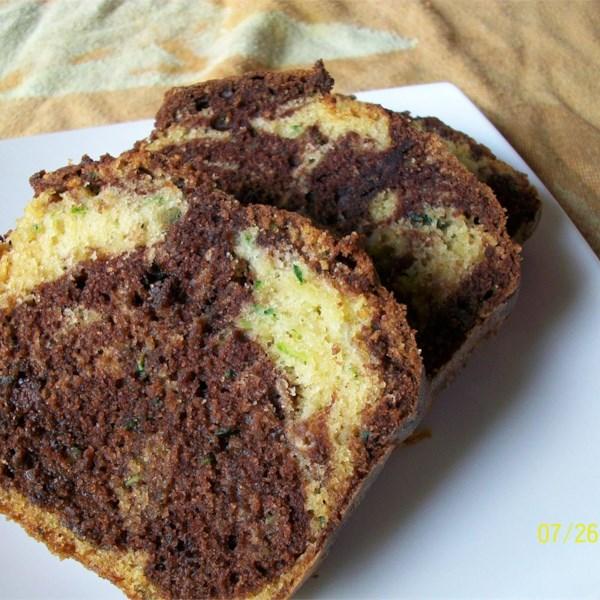 Receita de Pão de Abobrinha de Onda de Chocolate
