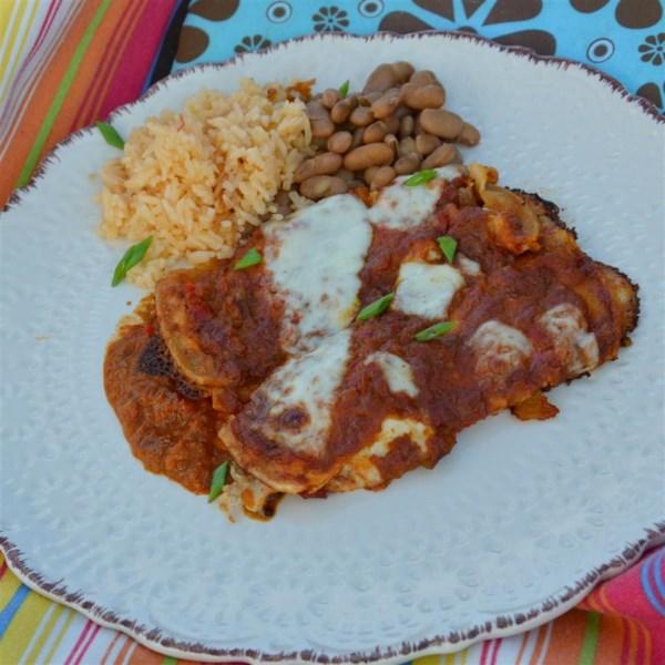 Salsa Roja para Enchiladas ou Receita de Burritos Molhados