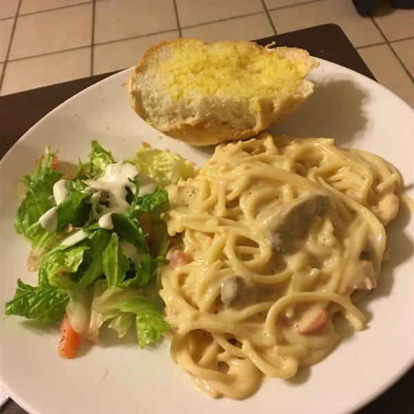 Receita de Espaguete de Frango II