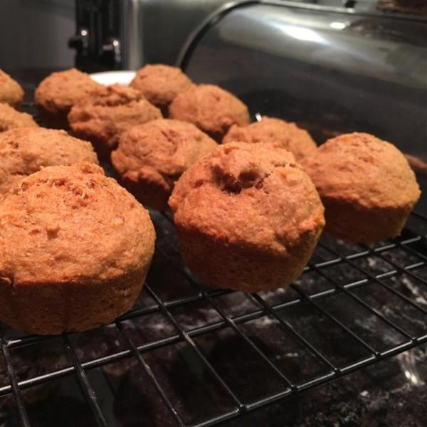 Receita de Muffins de Batata Doce Saudável