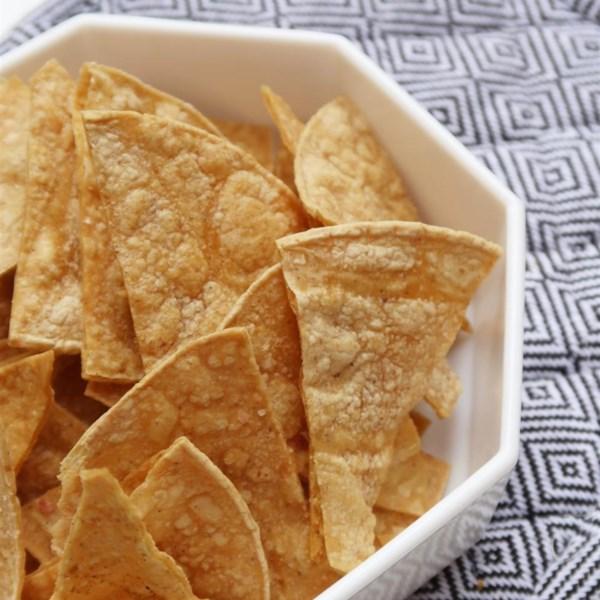 Receita de Chips de Tortilla Assado