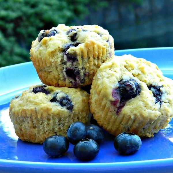 Receita de Muffins de Mirtilo Derretido na Boca