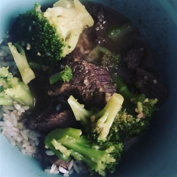 Receita de Carne de Brócolis de Panela Lenta