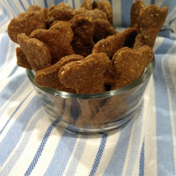 Receita de Biscoitos de Manteiga de Amendoim e Banana Dog
