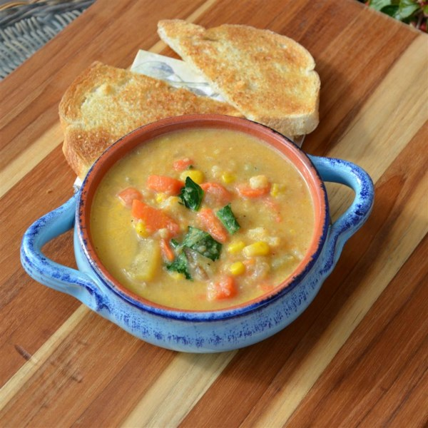 Receita de Sopa de Batata de Colheita
