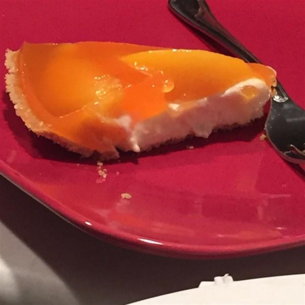 Pêssegos e Creme Torta I Receita