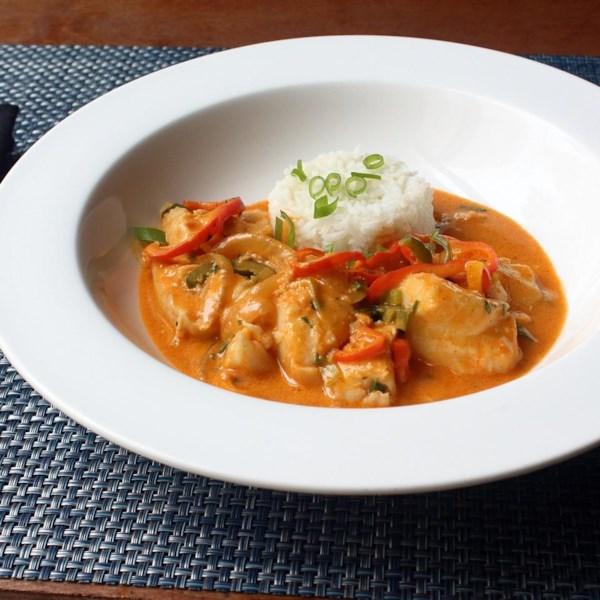 Receita brasileira de ensopado de peixe do Chef John