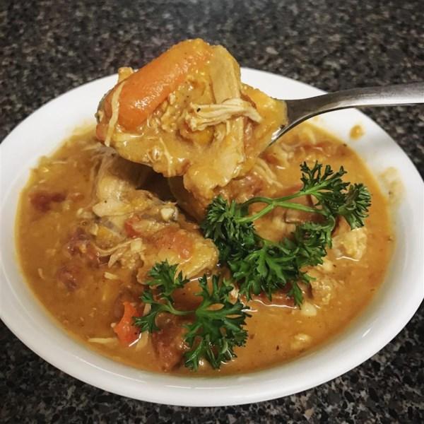 Receita de Sopa de Amendoim Africano de Ashley