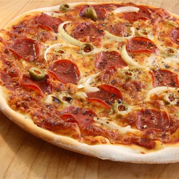 Receita de Massa de Pizza de Crosta Fina