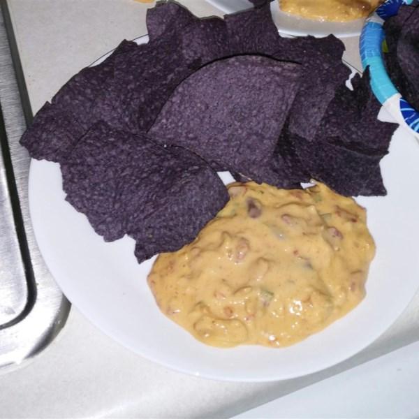 Receita ultrajante de frango quente nacho dip