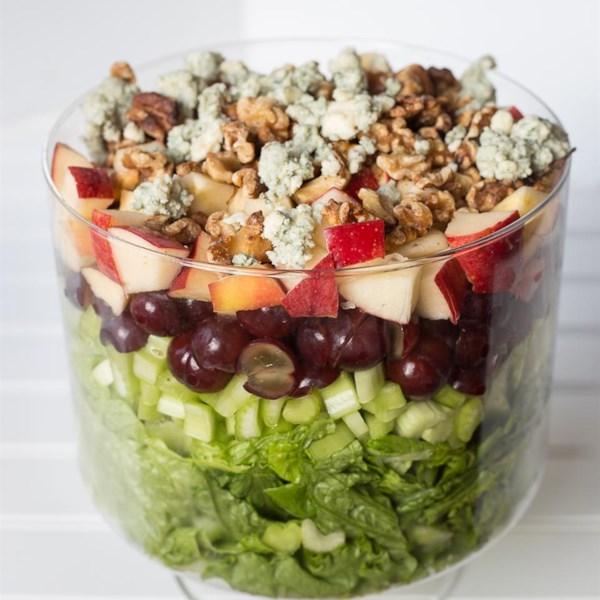 Receita de Salada Waldorf em camadas